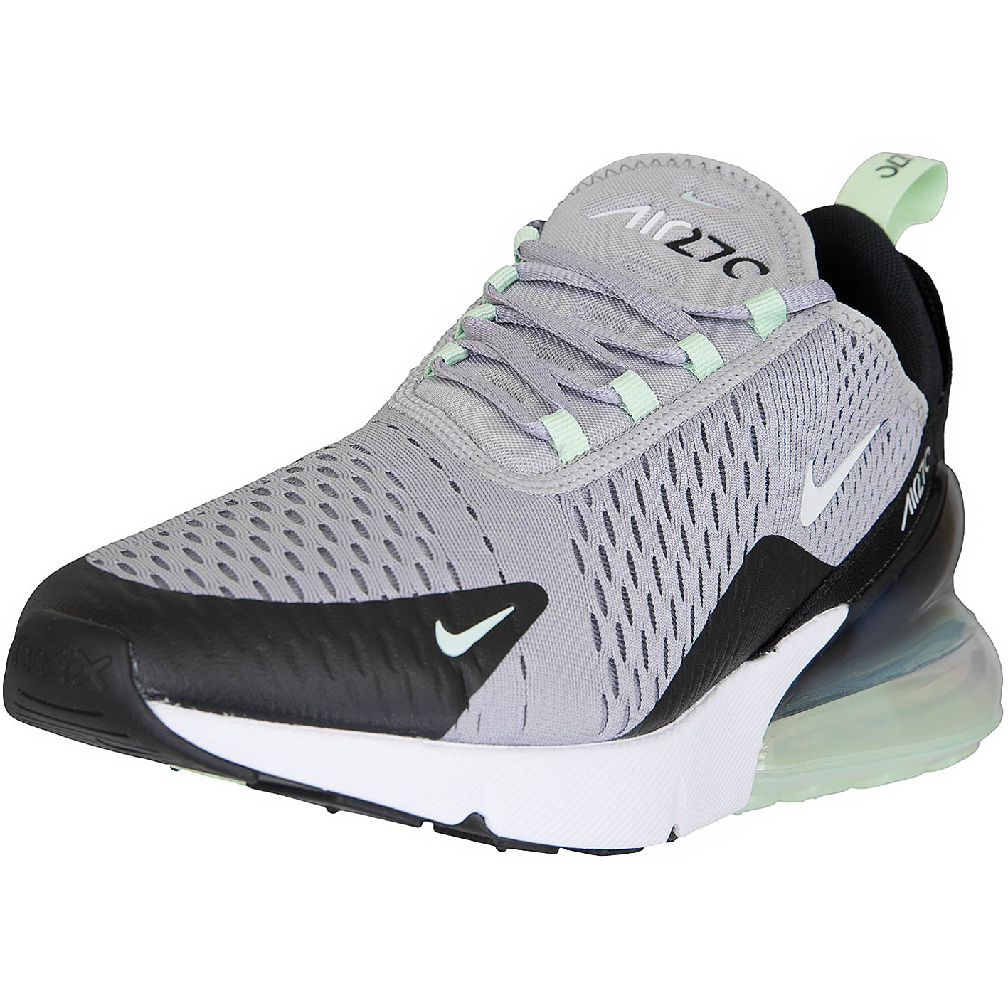 promo code lace up in free delivery Nike Sneaker Air Max 270 grau/mint