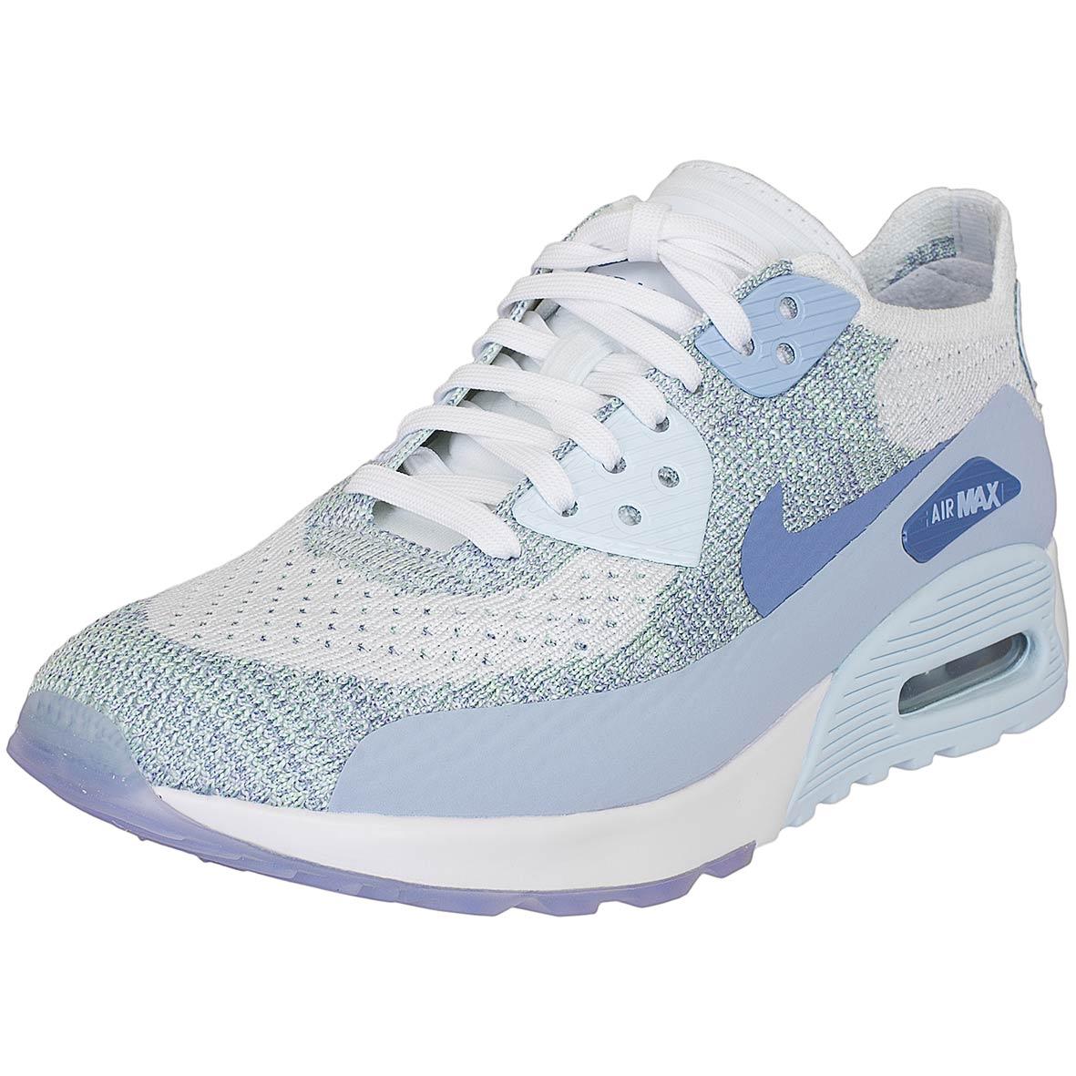 acf73001883a7c ☆ Nike Damen Sneaker Air Max 90 Ultra 2.0 Flyknit weiß blau - hier ...