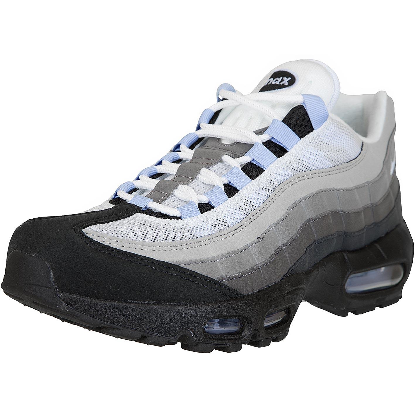 Nike Sneaker Air Max 95 schwarzweißgrau