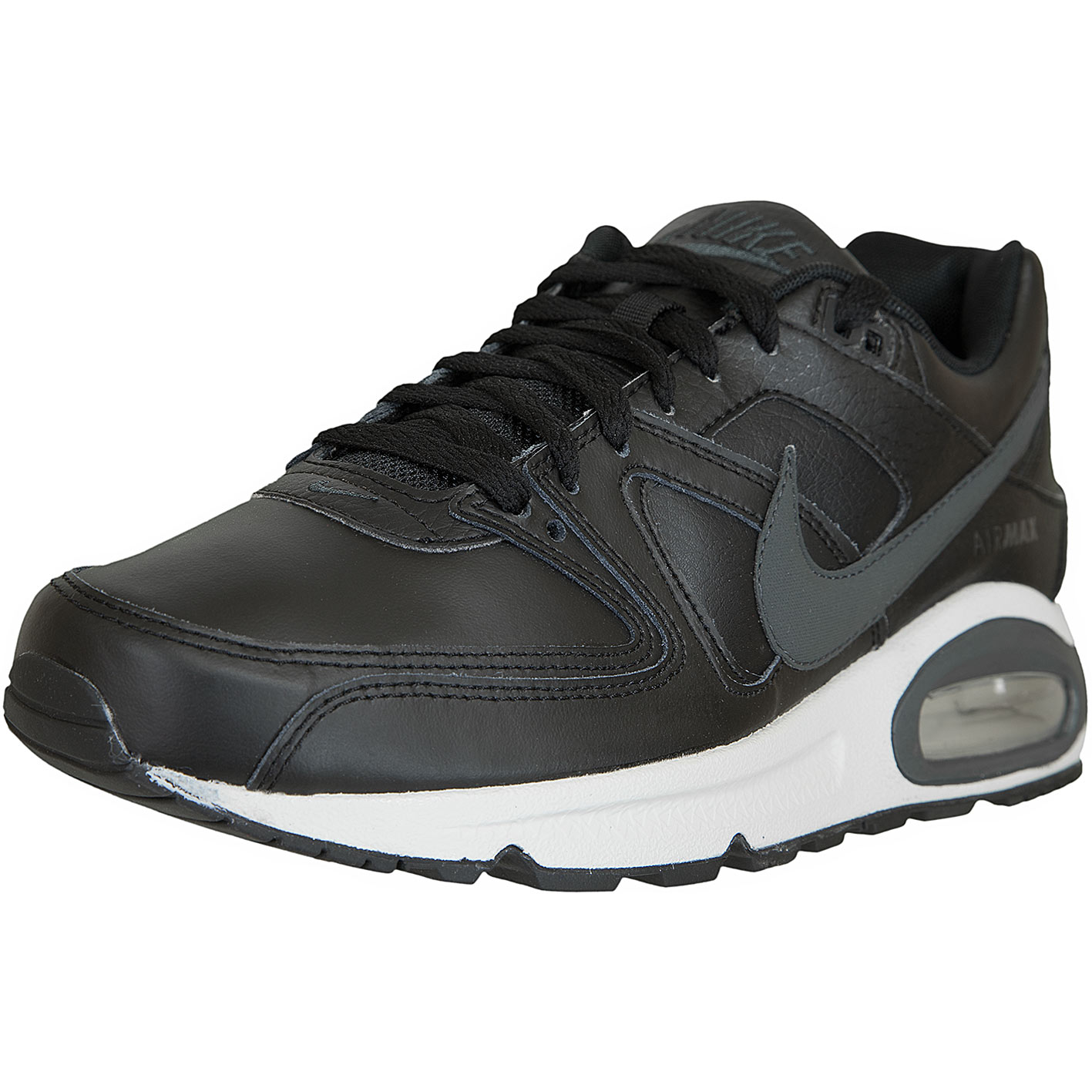 Nike Sneaker Air Max Command Leather schwarzanthrazit