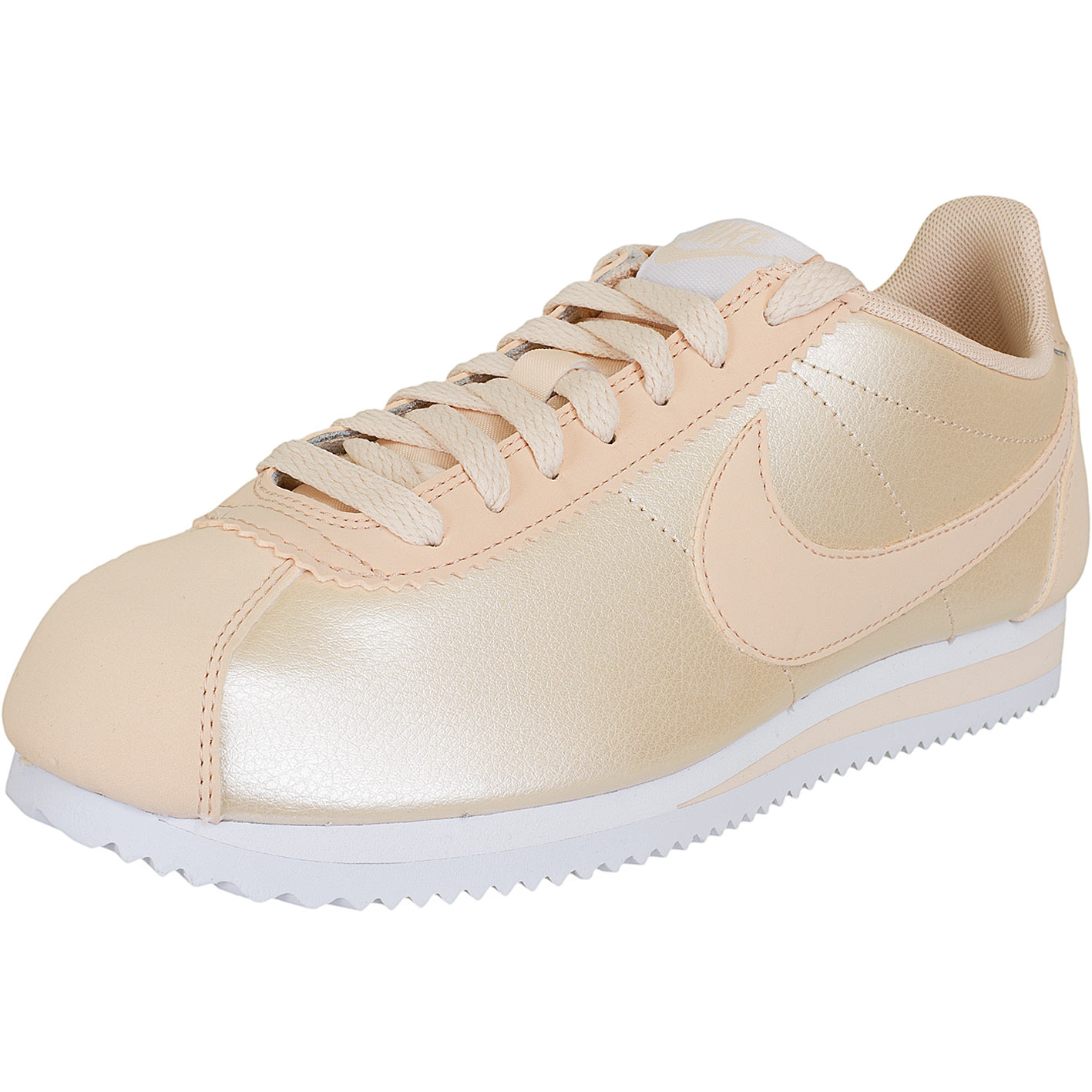 ☆ Nike Damen Sneaker Classic Cortez Leather orange coral - hier ... 25dda8c44f