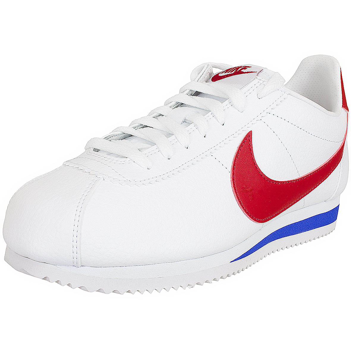 low priced 2e47c 72c50 Nike Sneaker Classic Cortez Leather weißrot