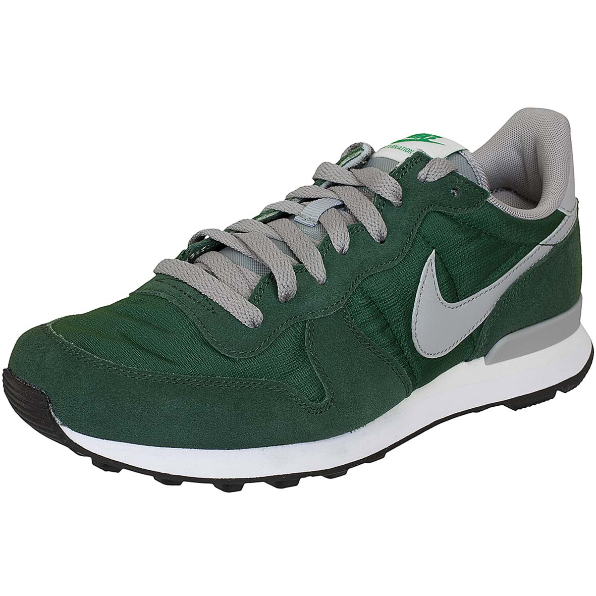 Nike Herren Internationalist Laufschuhe, Grau (Matte Silver