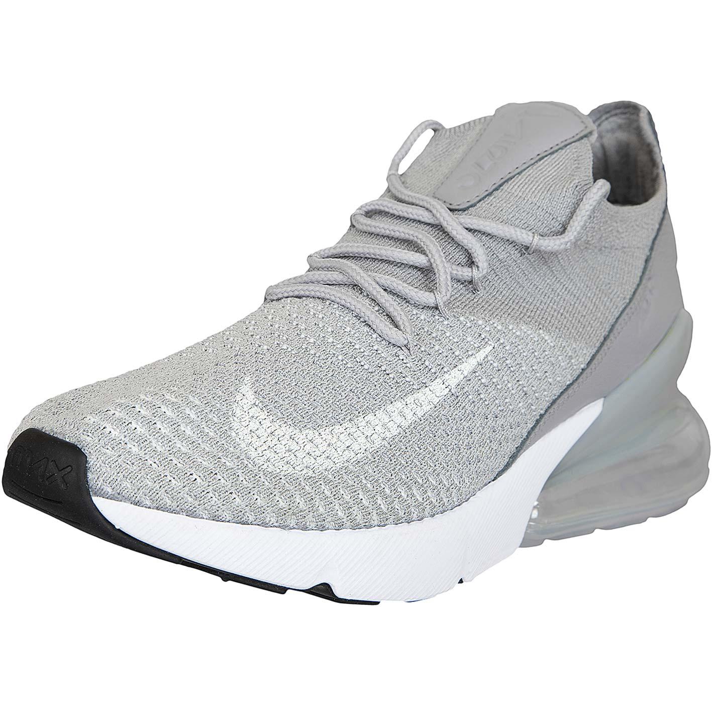 finest selection 692fb d4361 Nike Damen Sneaker Air Max 270 Flyknit grau weiß