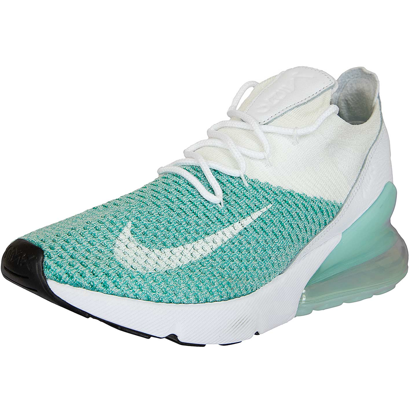 ☆ Nike Damen Sneaker Air Max 270 Flyknit türkis/weiß - hier bestellen!
