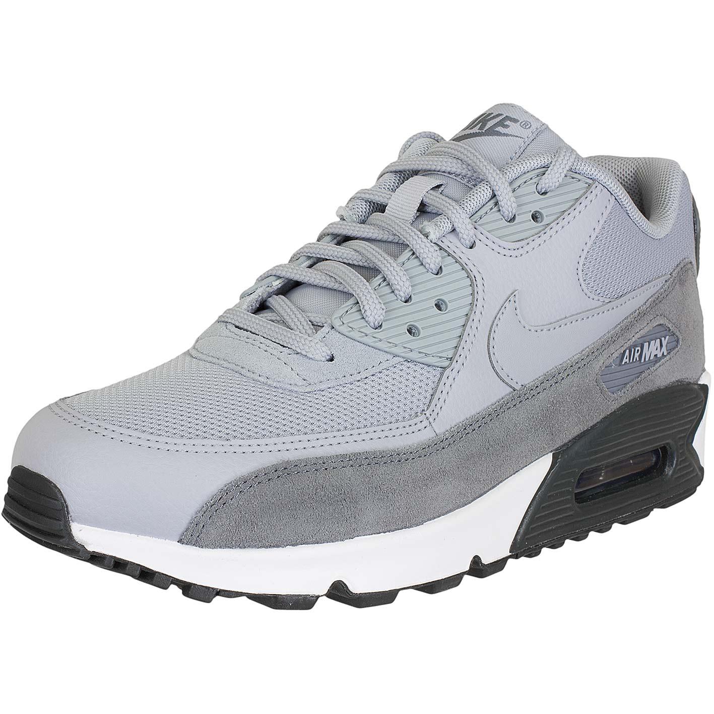 ☆ Nike Damen Sneaker Air Max 90 graugrau hier bestellen!