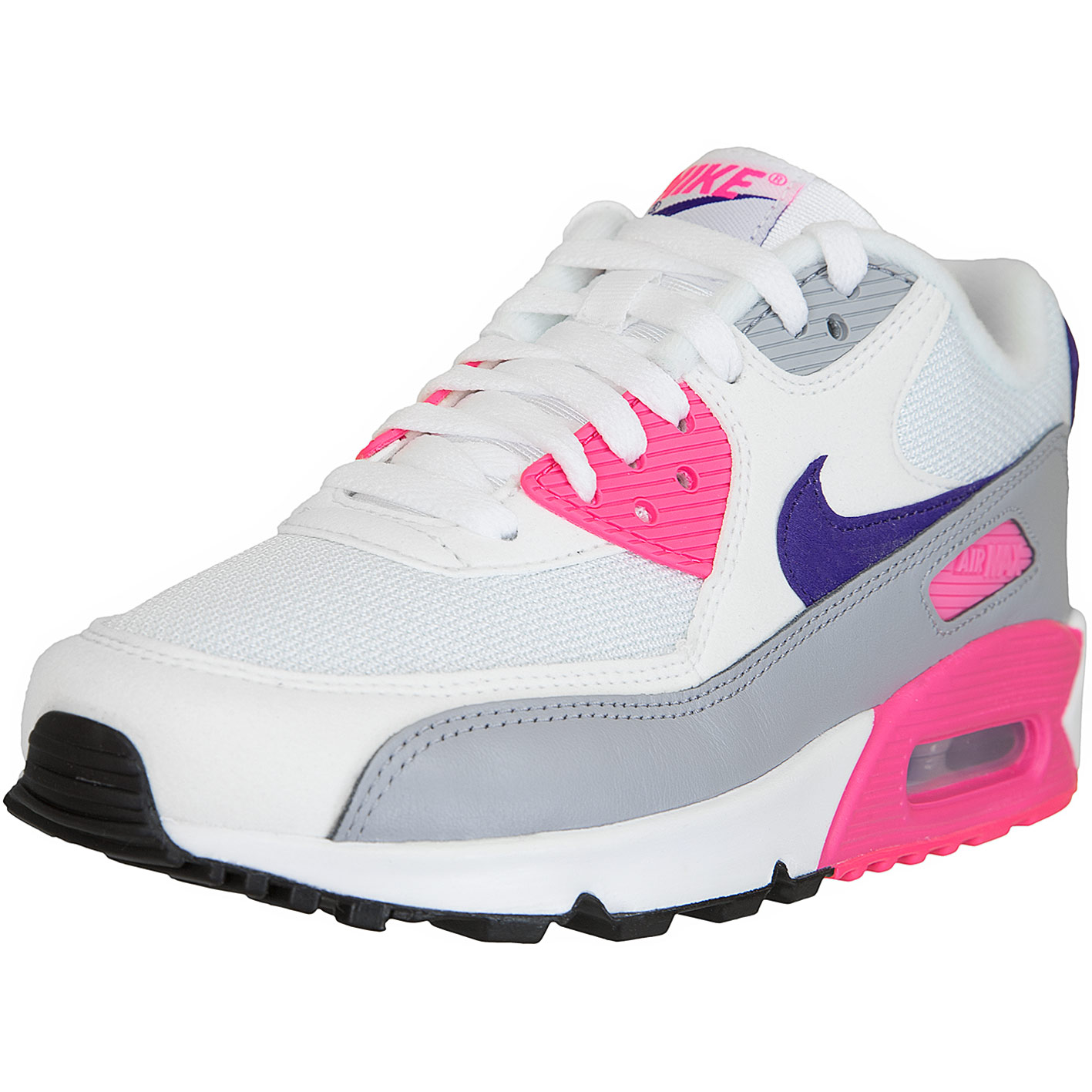 classic fit wholesale well known ☆ Nike Damen Sneaker Air Max 90 weiß/pink - hier bestellen!