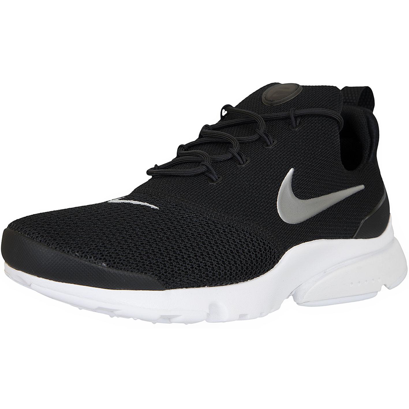 8bd053f90a50 ☆ Nike Damen Sneaker Presto Fly schwarz silber - hier bestellen!
