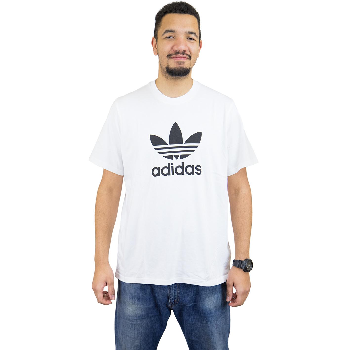 ☆ Adidas Originals T-Shirt Trefoil weiß schwarz - hier bestellen! fcd4fe2a40