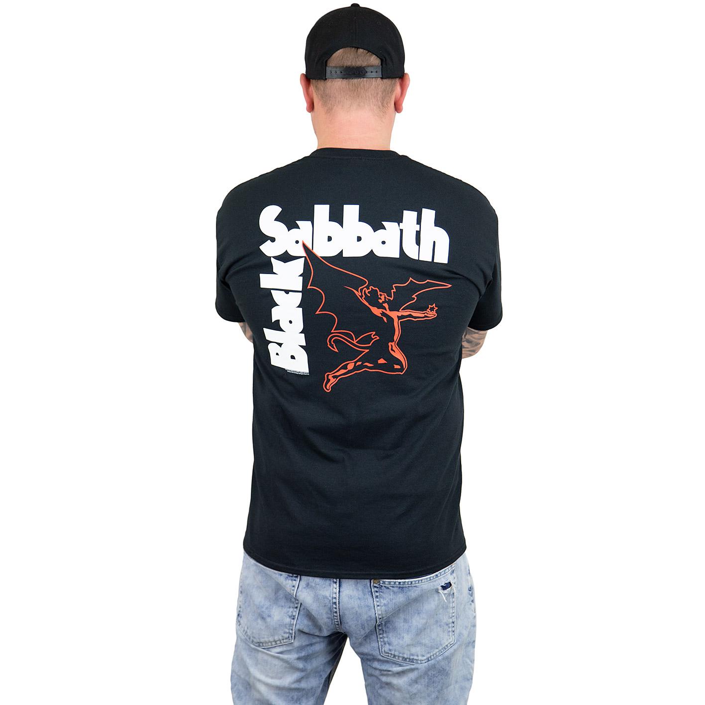 Black Sabbath Cherub T-Shirt schwarz