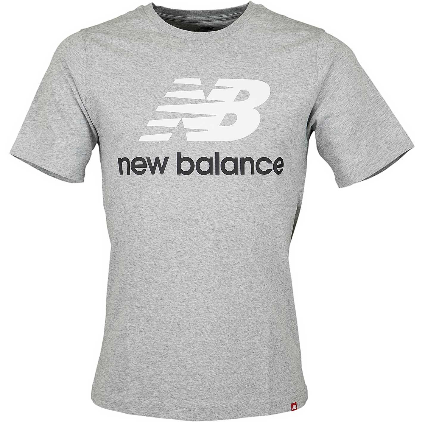 new balance t shirt grau