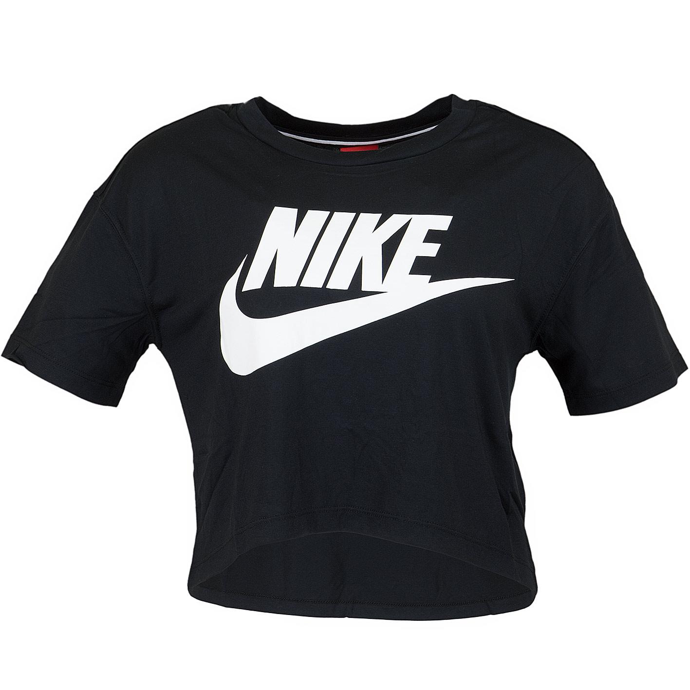 nike t shirt schwarz damen