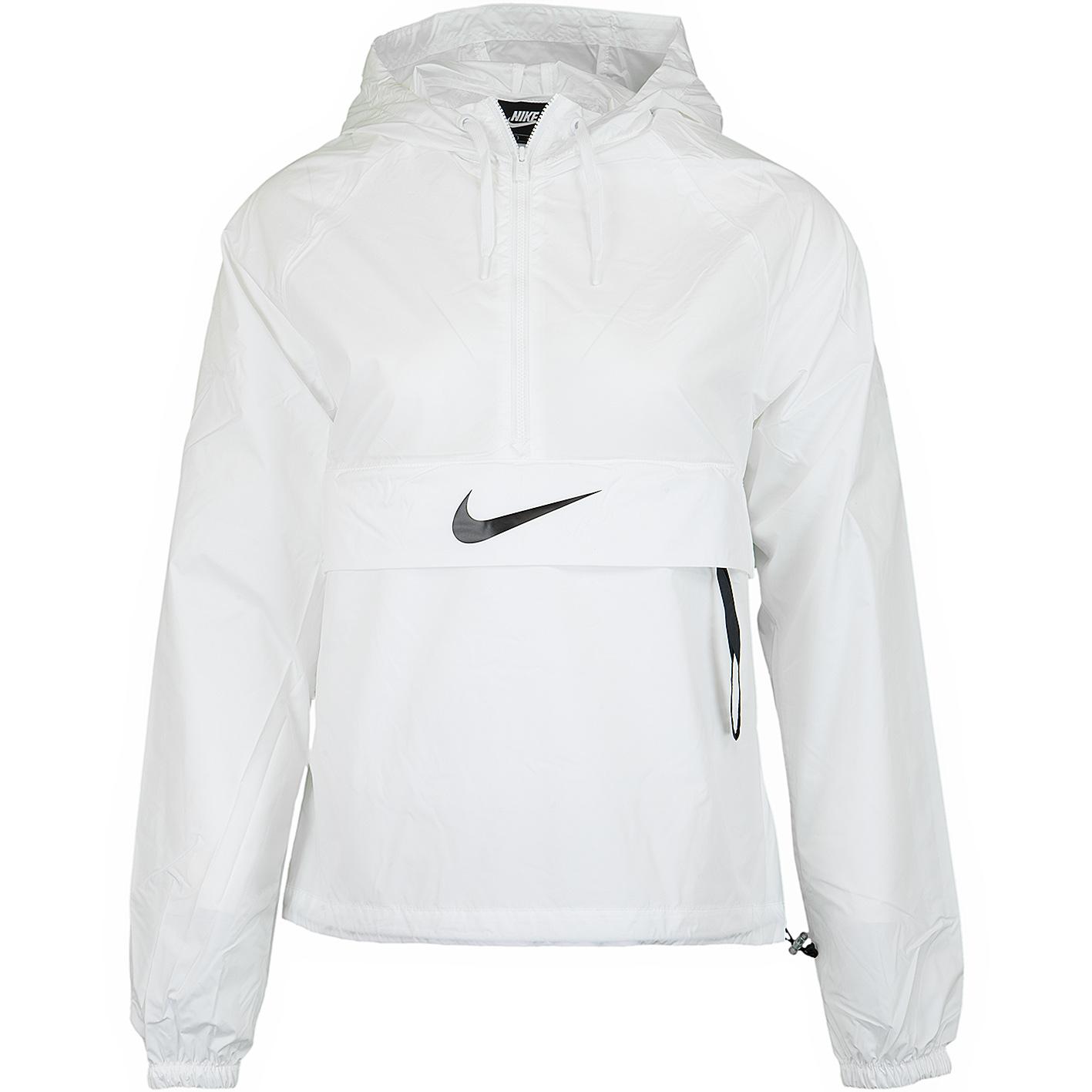 Nike Windbreaker Damen Schwarz Weiß
