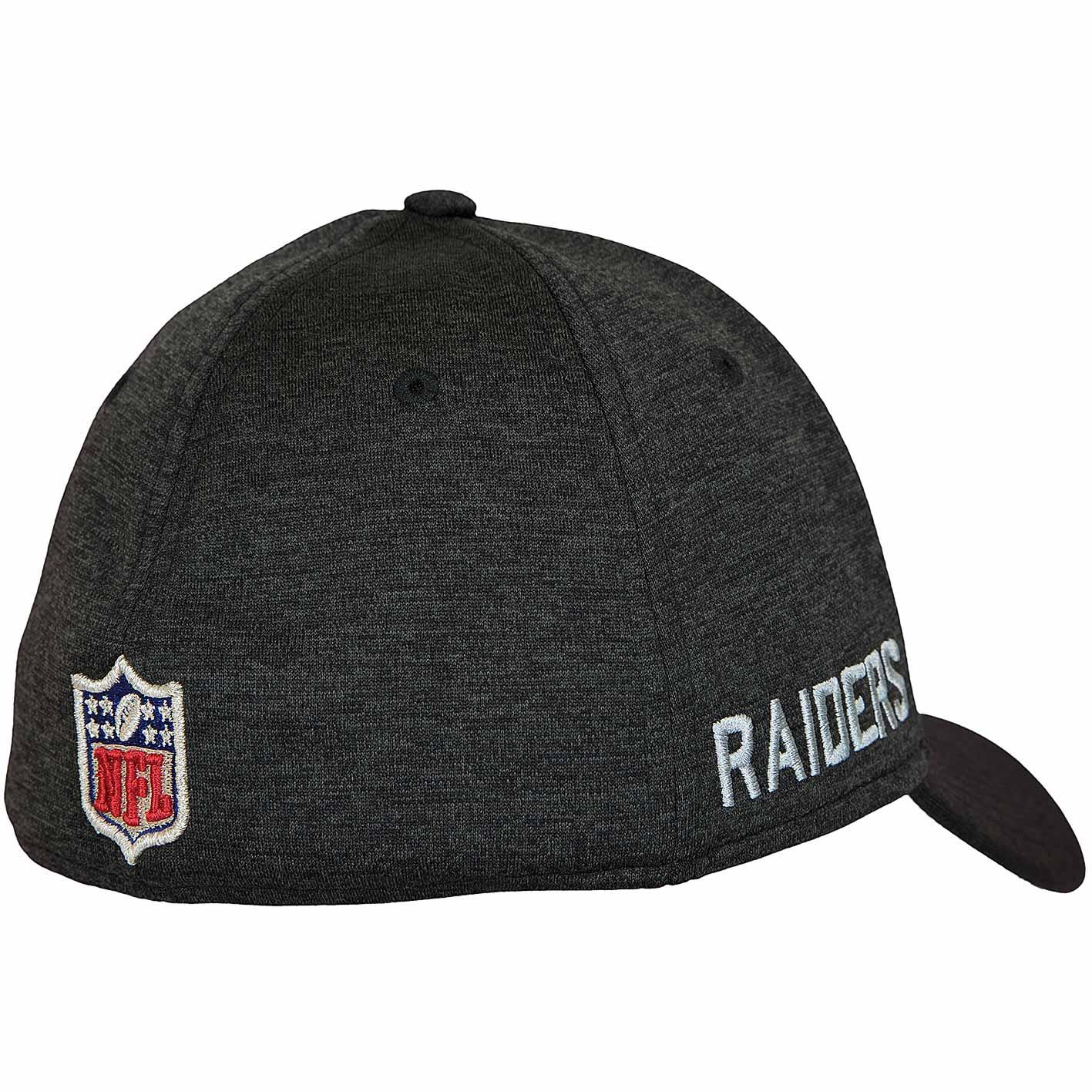 57ad218597023 ... where to buy new era 39thirty flexfit cap onfield road oakland raiders  schwarz grau 16f16 b24a2