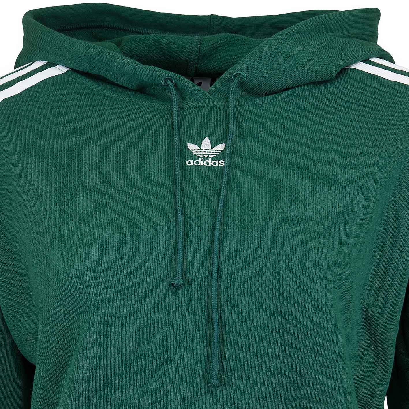 reasonably priced skate shoes best supplier Adidas Originals Damen Hoody Cropped grün