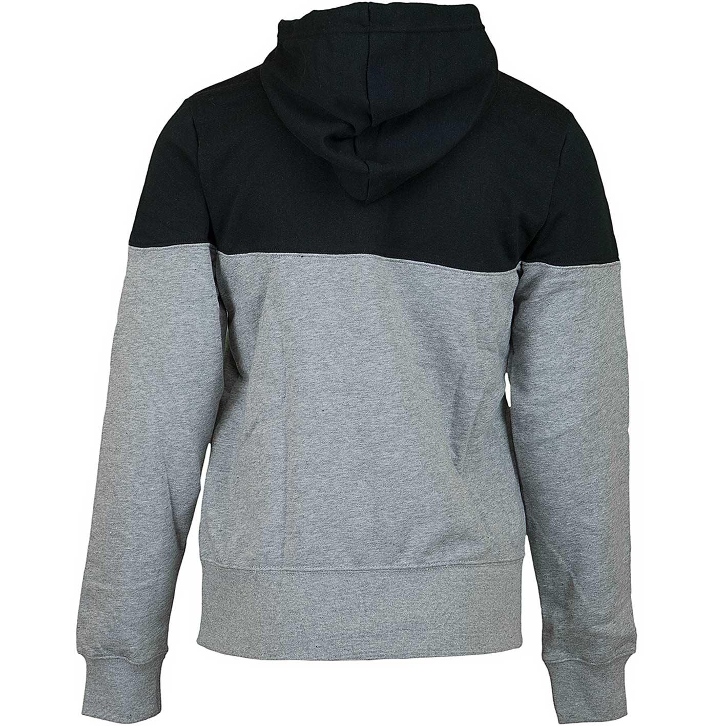 huge selection of 06c5e 222e4 Nike Damen Hoody Heritage Fleece grau/schwarz