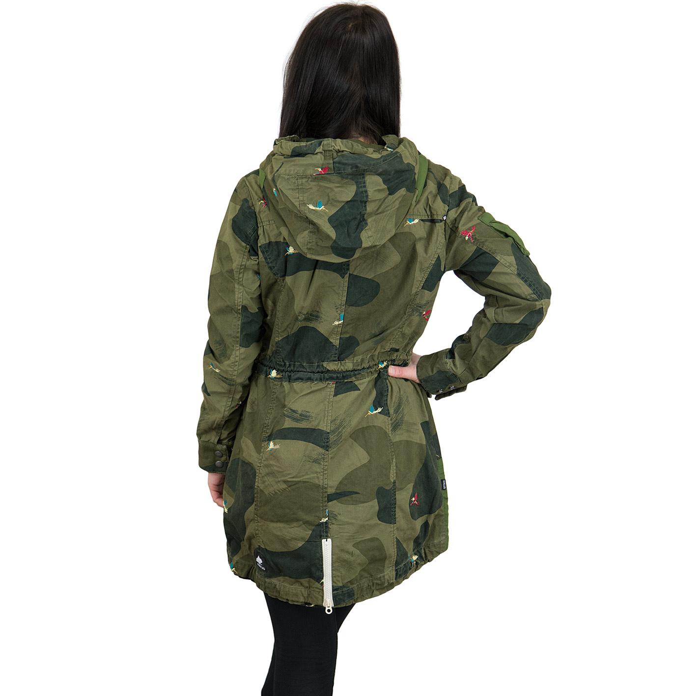 Khujo camouflage jacke