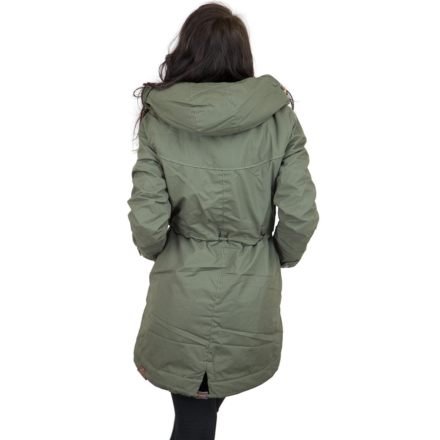 buy online b51c6 6c97f Ragwear Damen-Jacke Canny olive