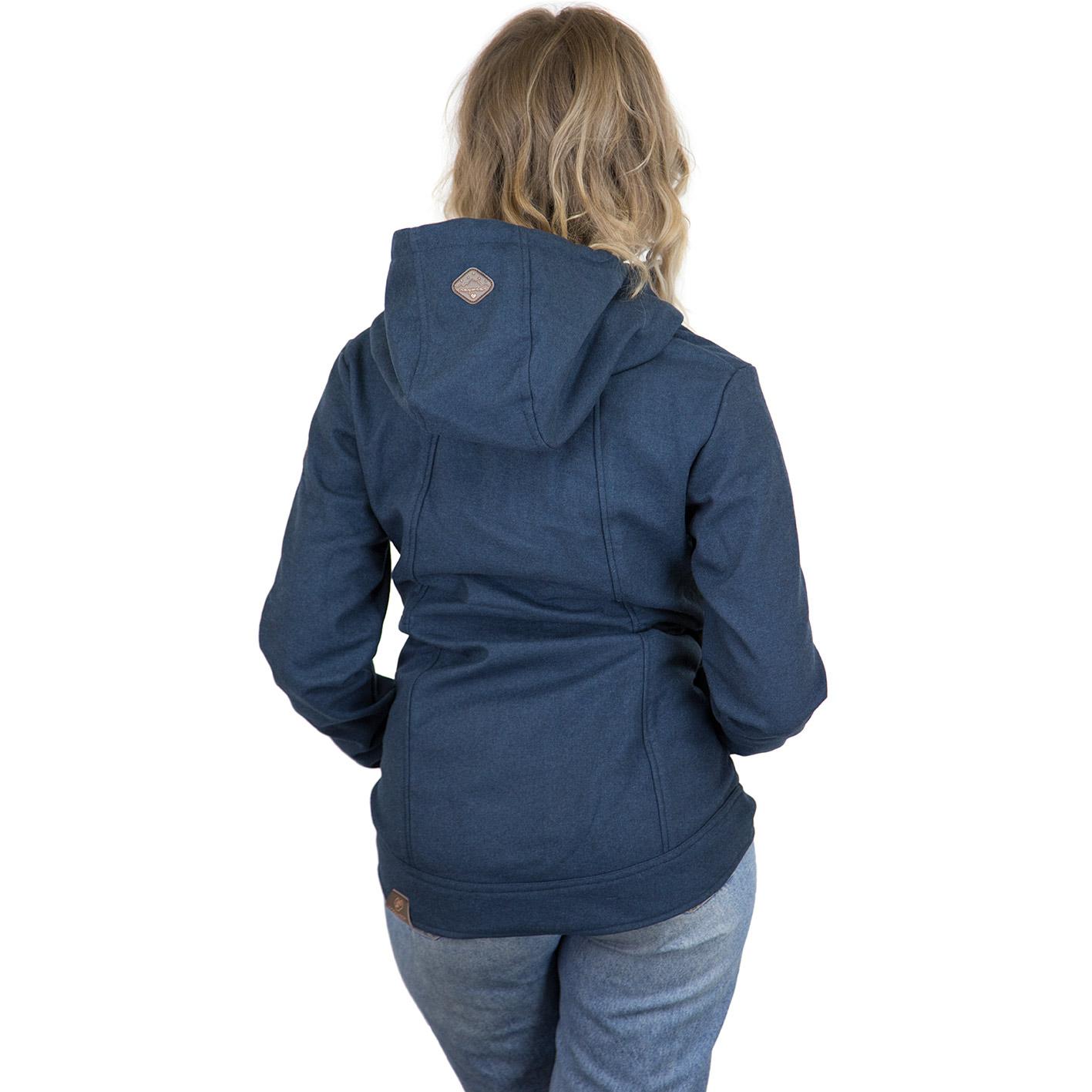 huge discount 483de 25c5d Ragwear Damen-Jacke Enrica blau