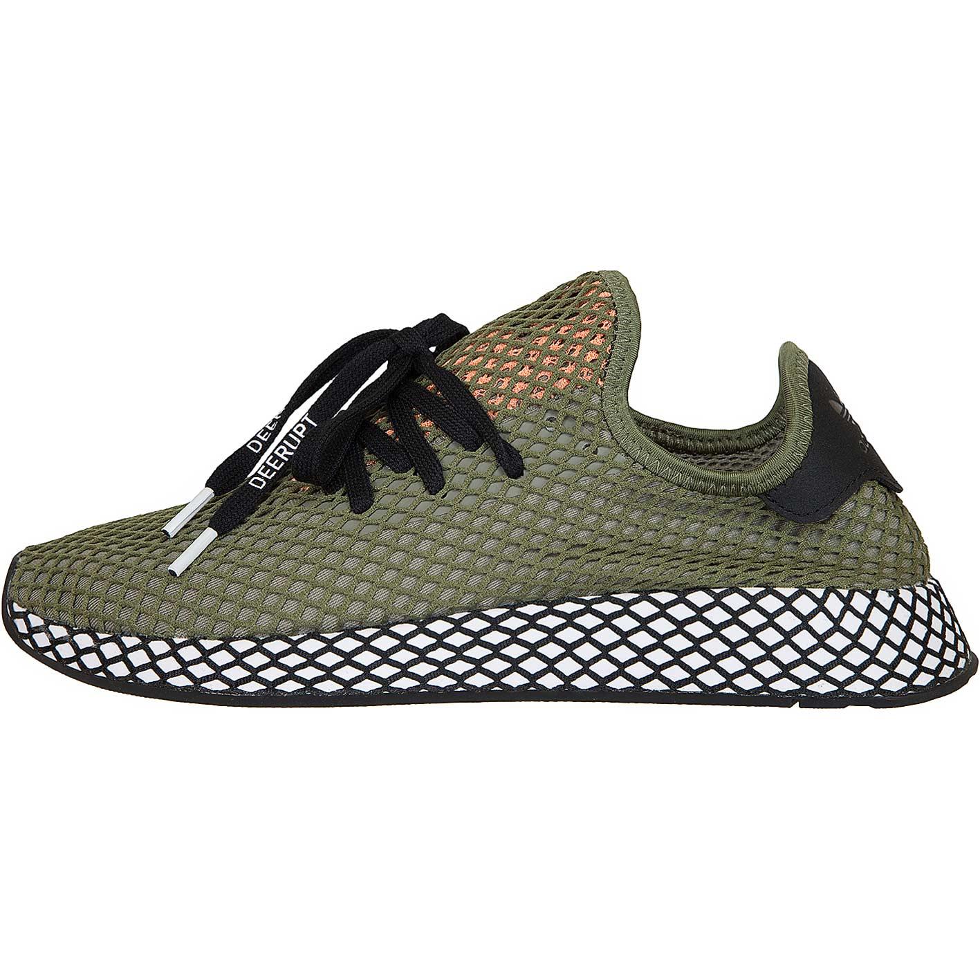 6bac02cb10e781 ☆ Adidas Originals Sneaker Deerupt Runner khaki schwarz - hier ...