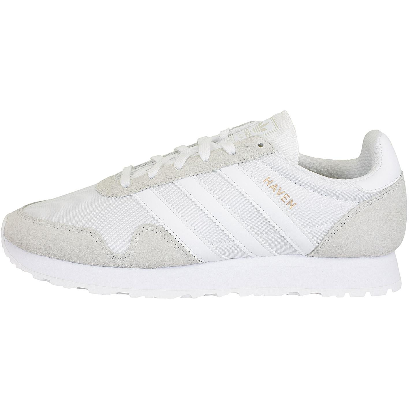 low priced 45724 38ae5 Adidas Originals Sneaker Haven hellbraun weiß