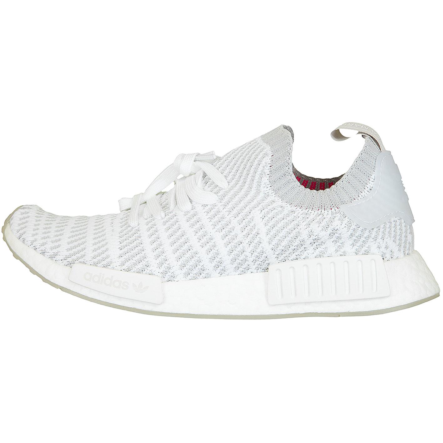 Adidas Originals Sneaker Nmd R1 Stlt Primeknit Weiss Grau Hier