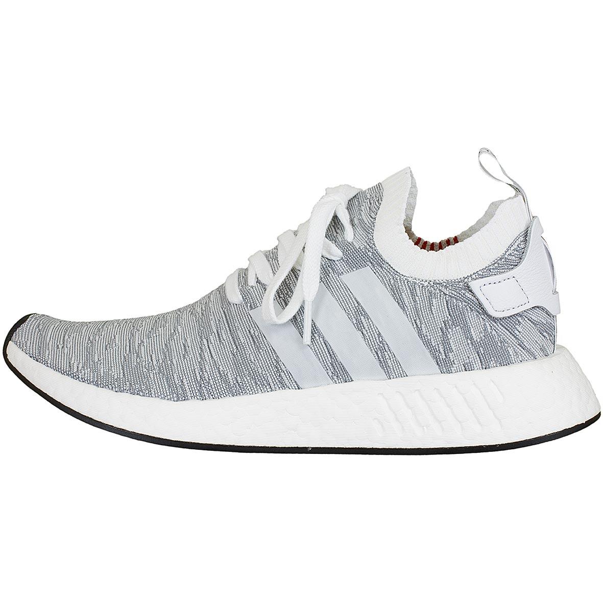 Adidas Originals Sneaker NMD R2 Primeknit weißschwarz