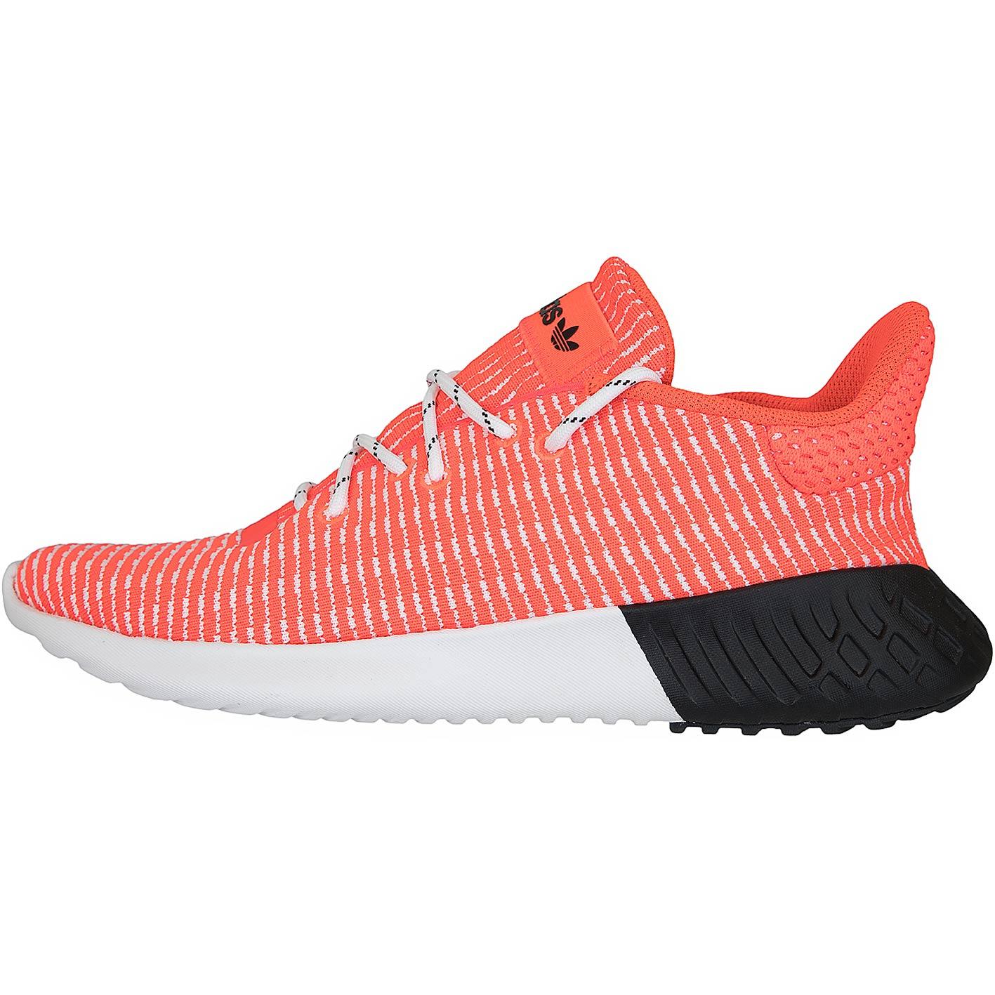 Adidas Originals Damen Sneaker Tubular Dusk rotweißschwarz
