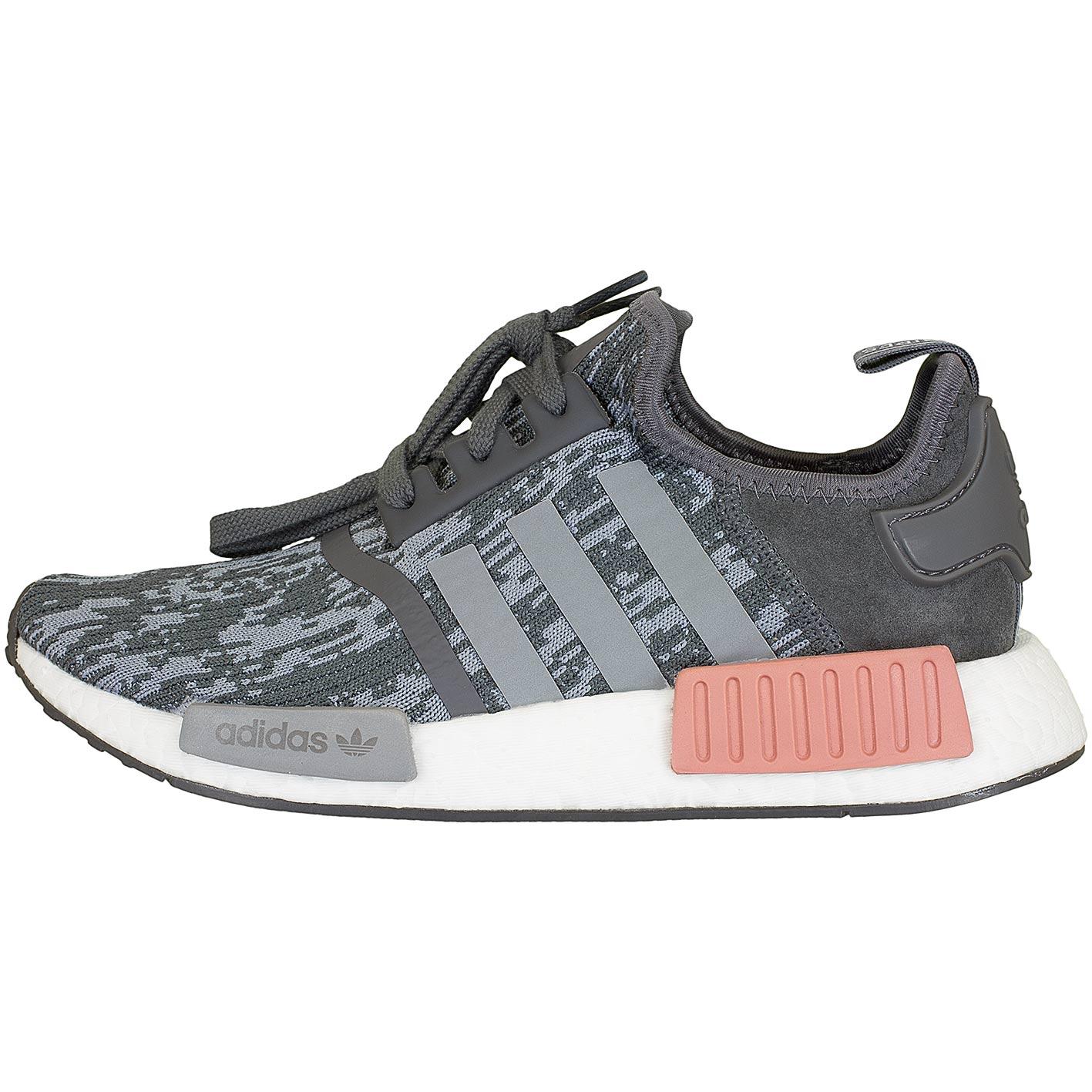 ☆ Adidas Originals Damen Sneaker NMD R1 grau/pink - hier bestellen!