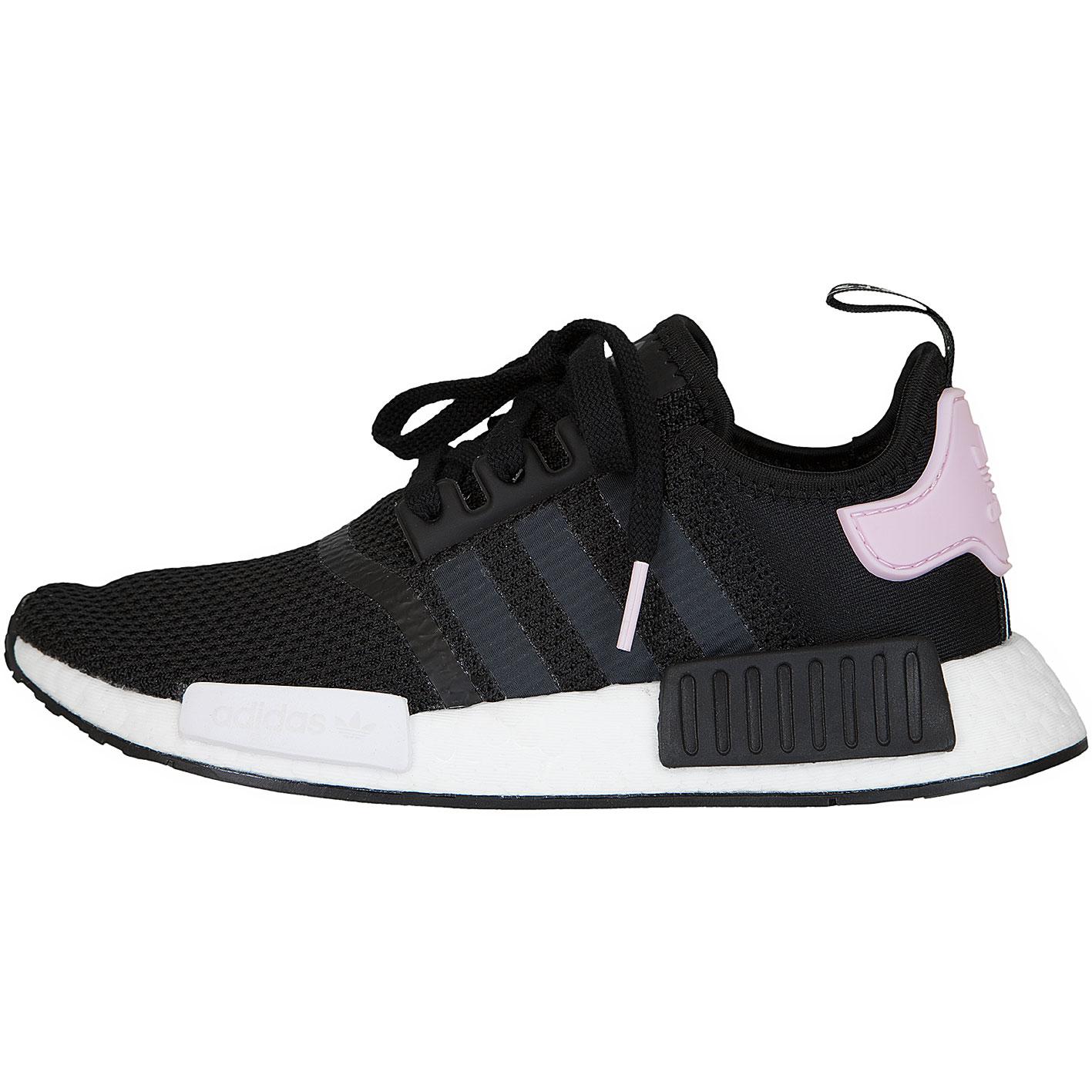 ☆ Adidas Originals Damen Sneaker NMD R1 schwarz/weiß/pink ...