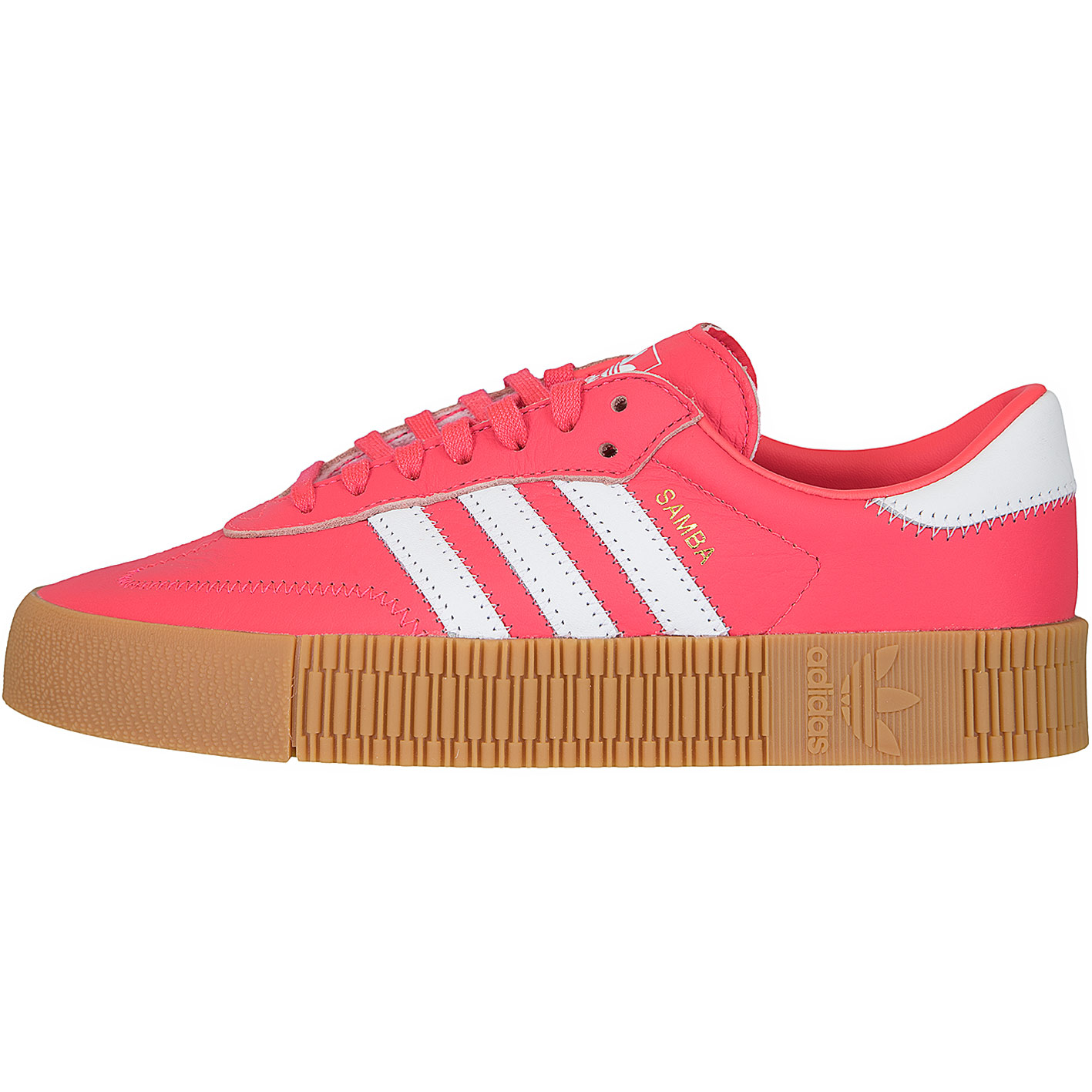sale usa online new photos the best attitude Adidas Originals Damen Sneaker Sambarose rot/weiß
