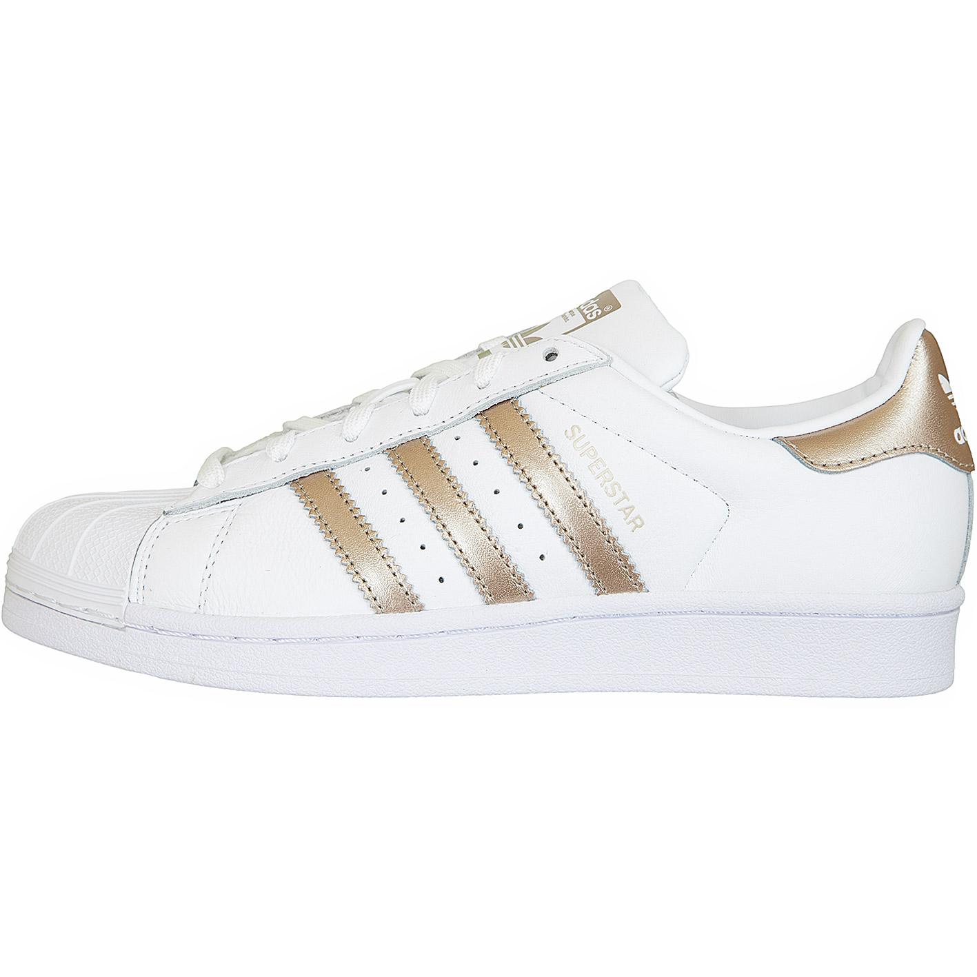 ADIDAS ORIGINALS Sneaker 'Superstar' in gold weiß | ABOUT