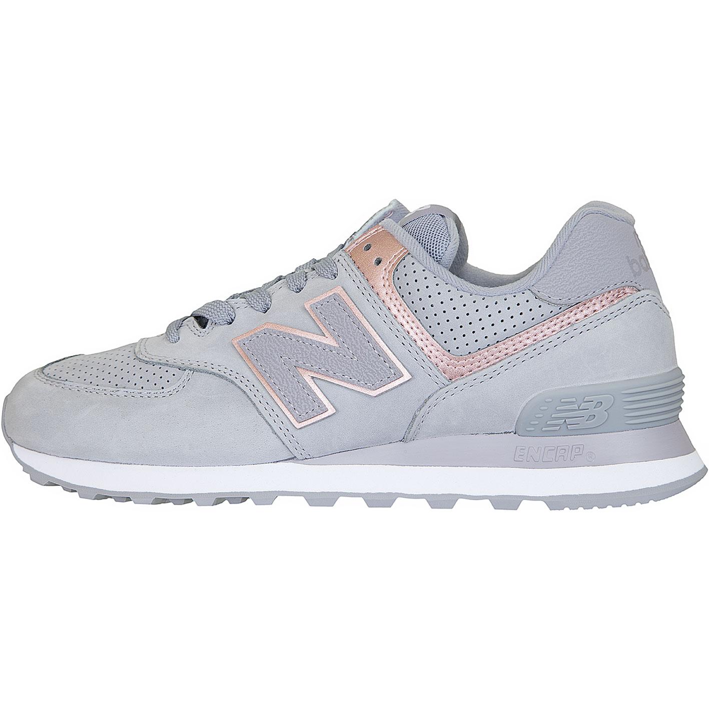 ? New balance Damen Sneaker 574 LeatherSynthetic grau