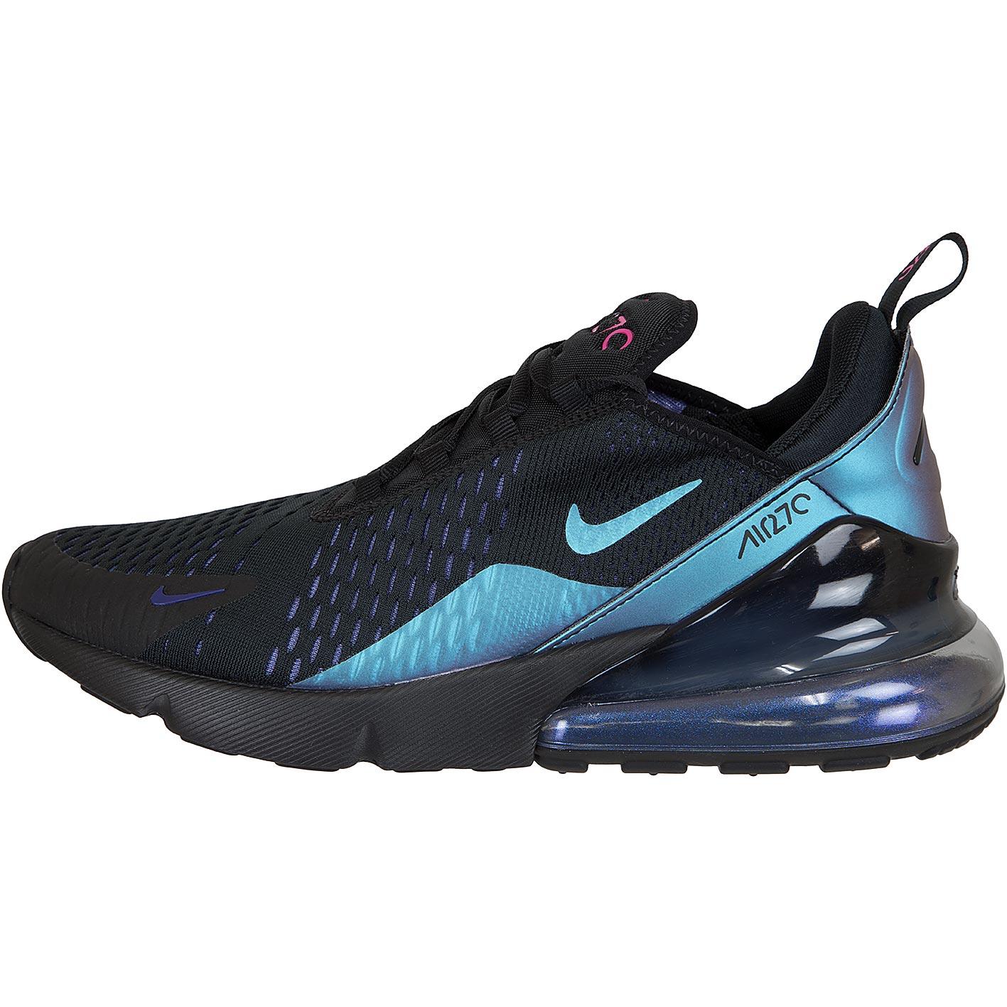 ☆ Nike Damen Sneaker Air Max 270 schwarzlilatürkis hier