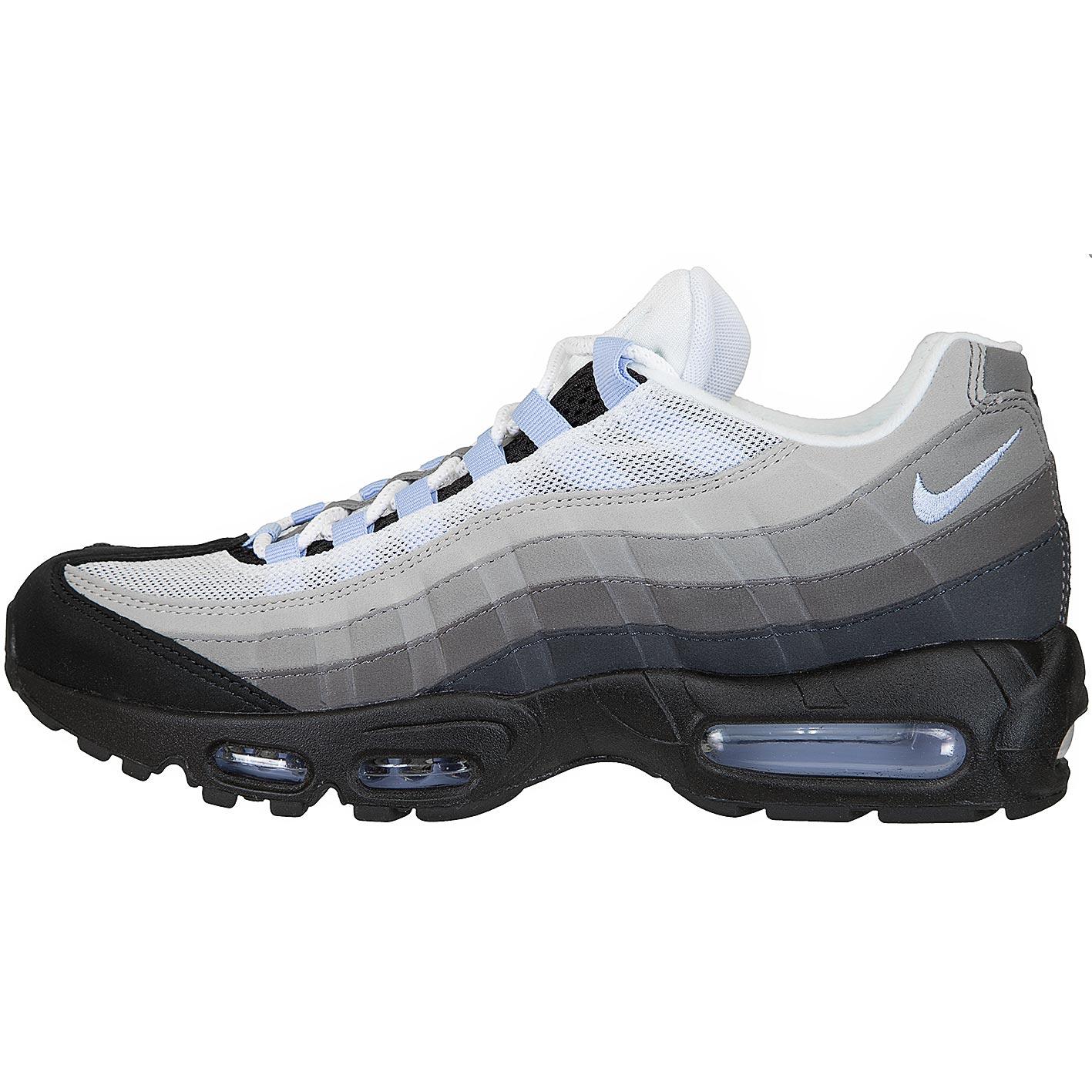 Air Nike 95 Max Sneaker schwarzweißgrau 5LAjRq43