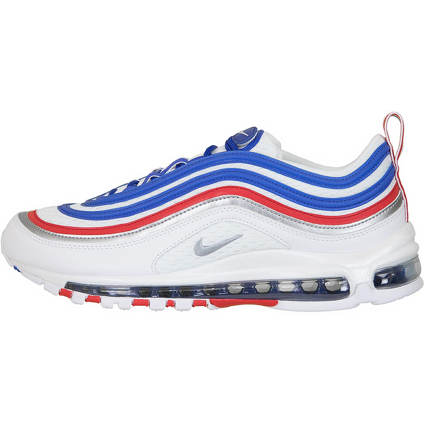 Nike Sneaker Air Max 97 Weiß/blau/rot