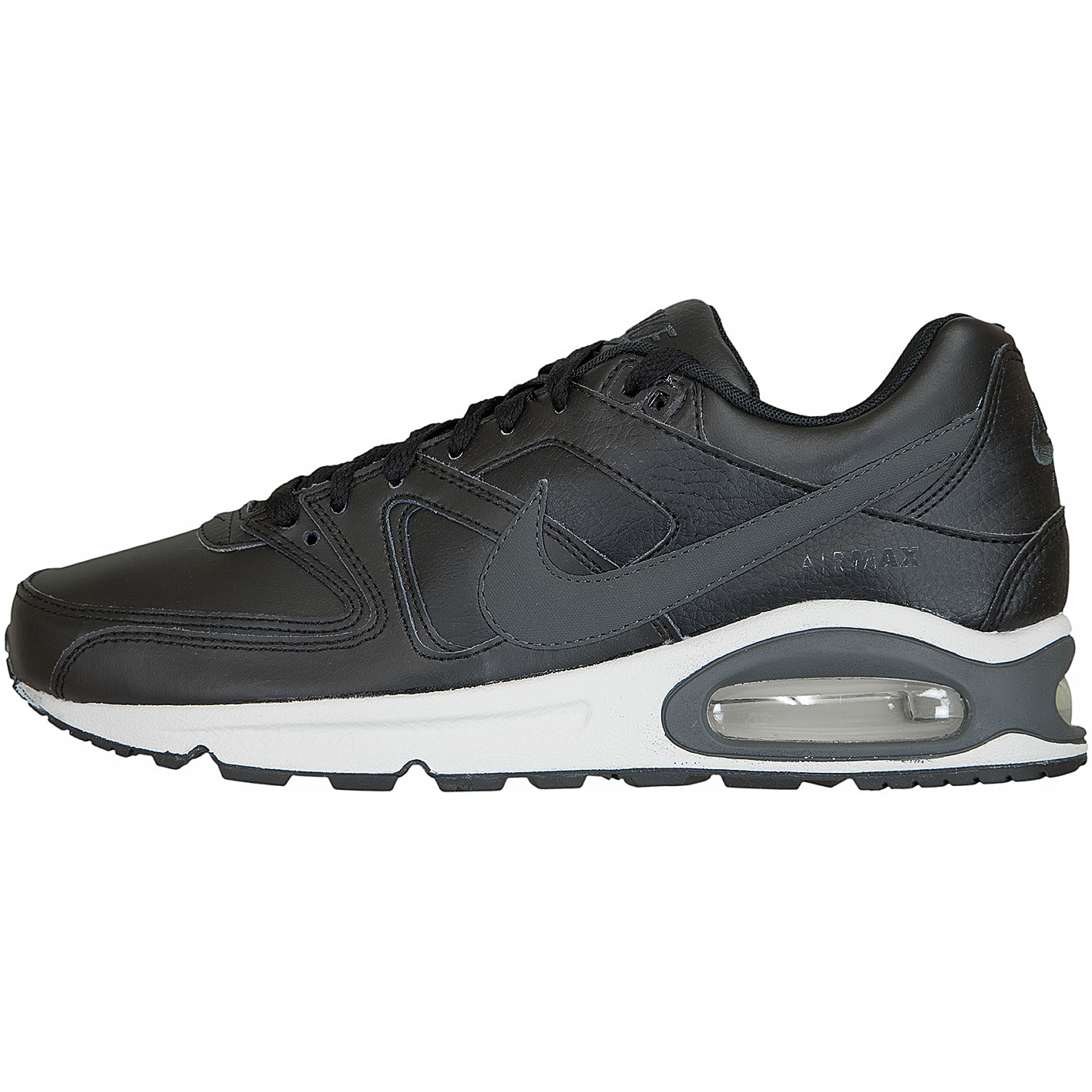 Nike Air Max Command Leather Schwarz Weiß aktion