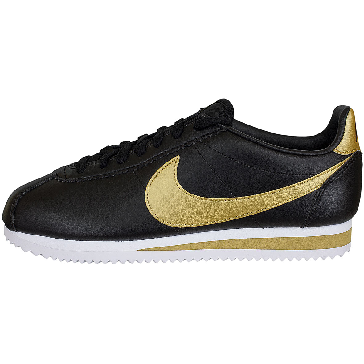 nike cortez quickstrike black gold
