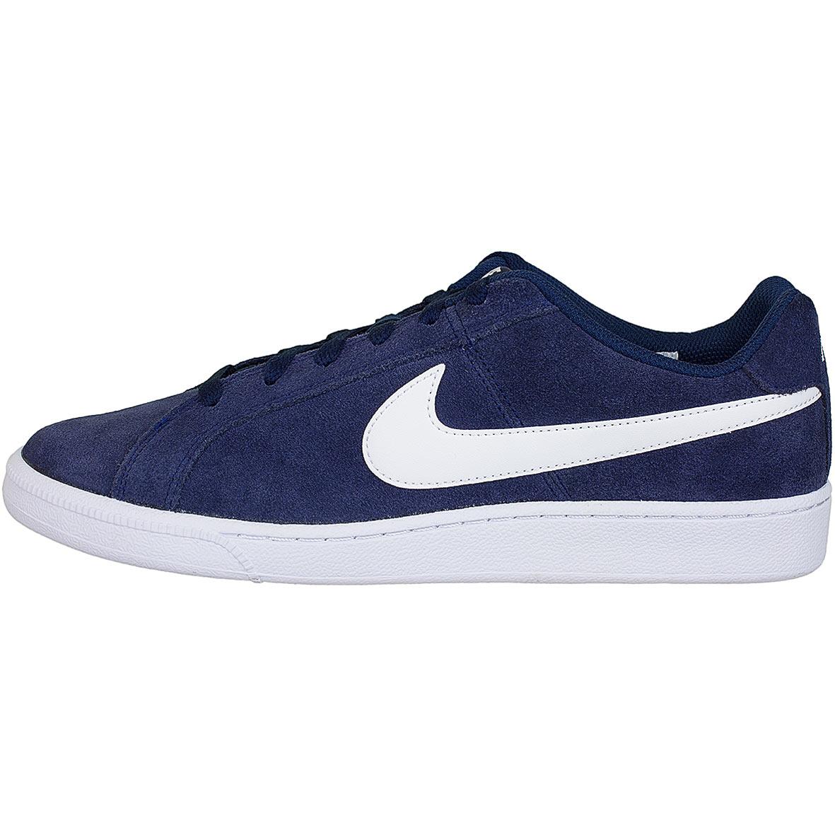 cf2c5760663485 ☆ Nike Sneaker Court Royale Suede dunkelblau weiß - hier bestellen!