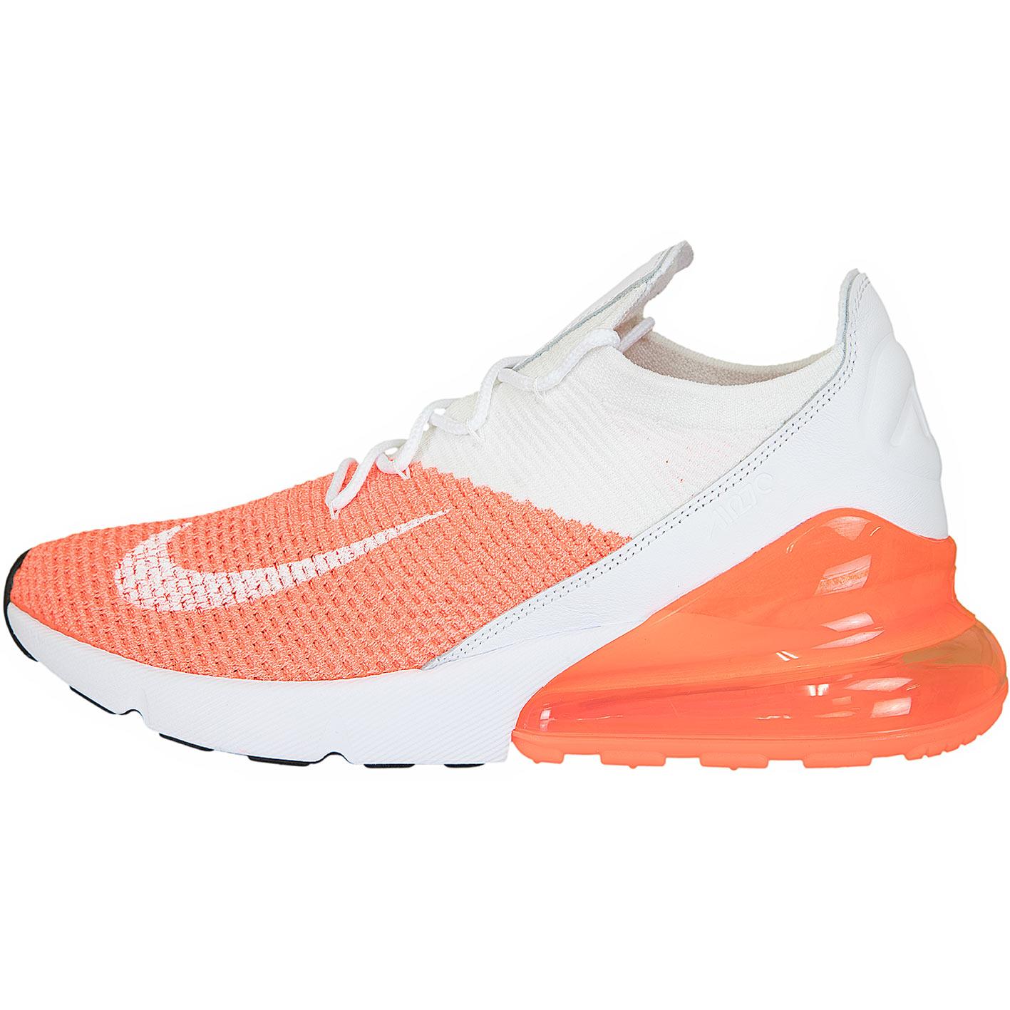 premium selection 30cfd 3945e ☆ Nike Damen Sneaker Air Max 270 Flyknit coral/weiß - hier bestellen!