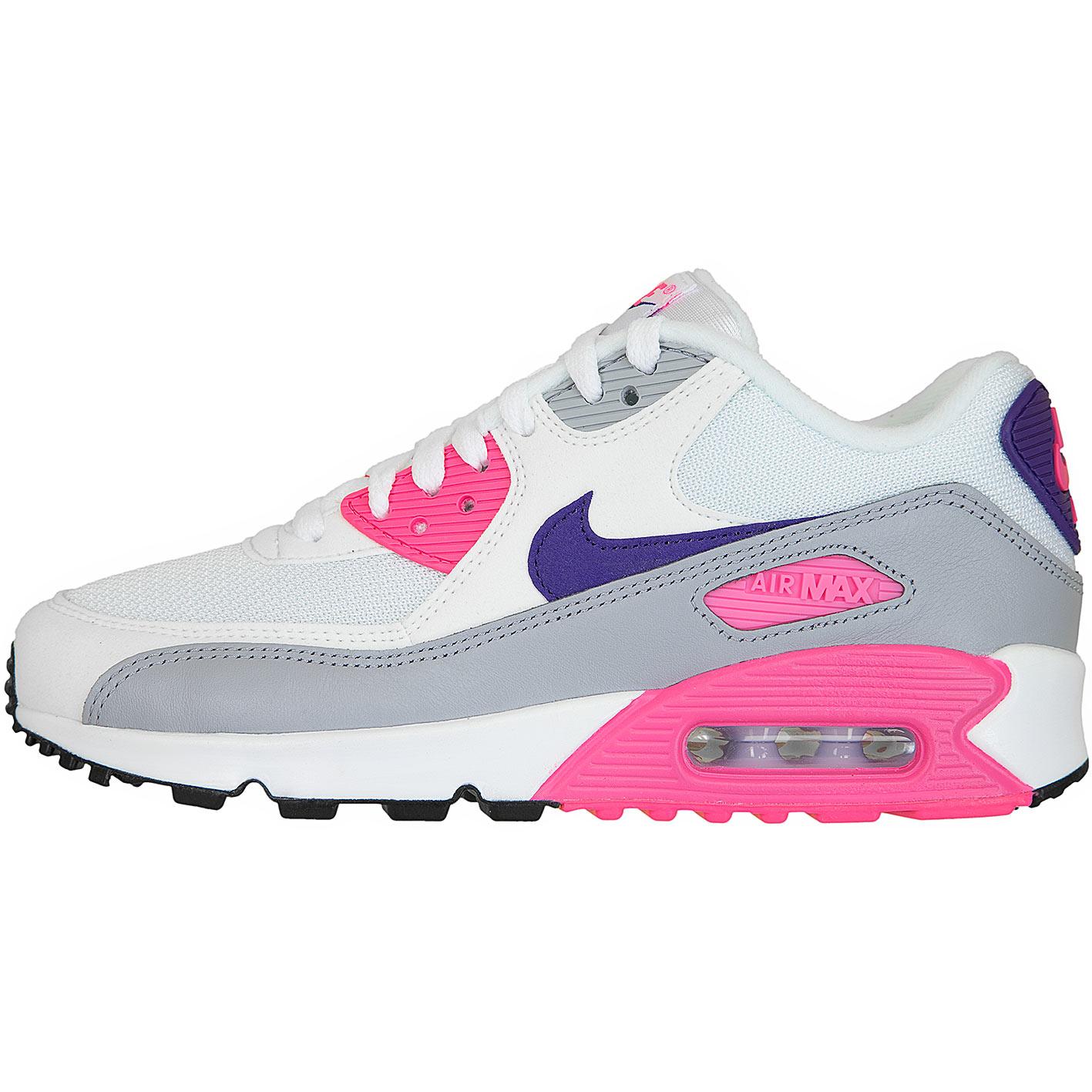 purchase cheap 74793 1f817 Nike Damen Sneaker Air Max 90 weißpink