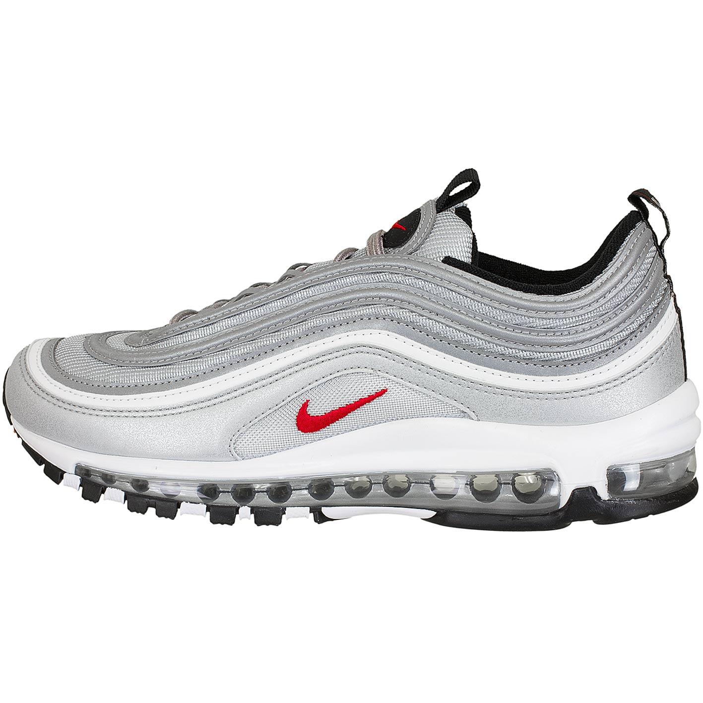 9a8c473d99b4 ☆ Nike Damen Sneaker Air Max 97 OG silber rot - hier bestellen!