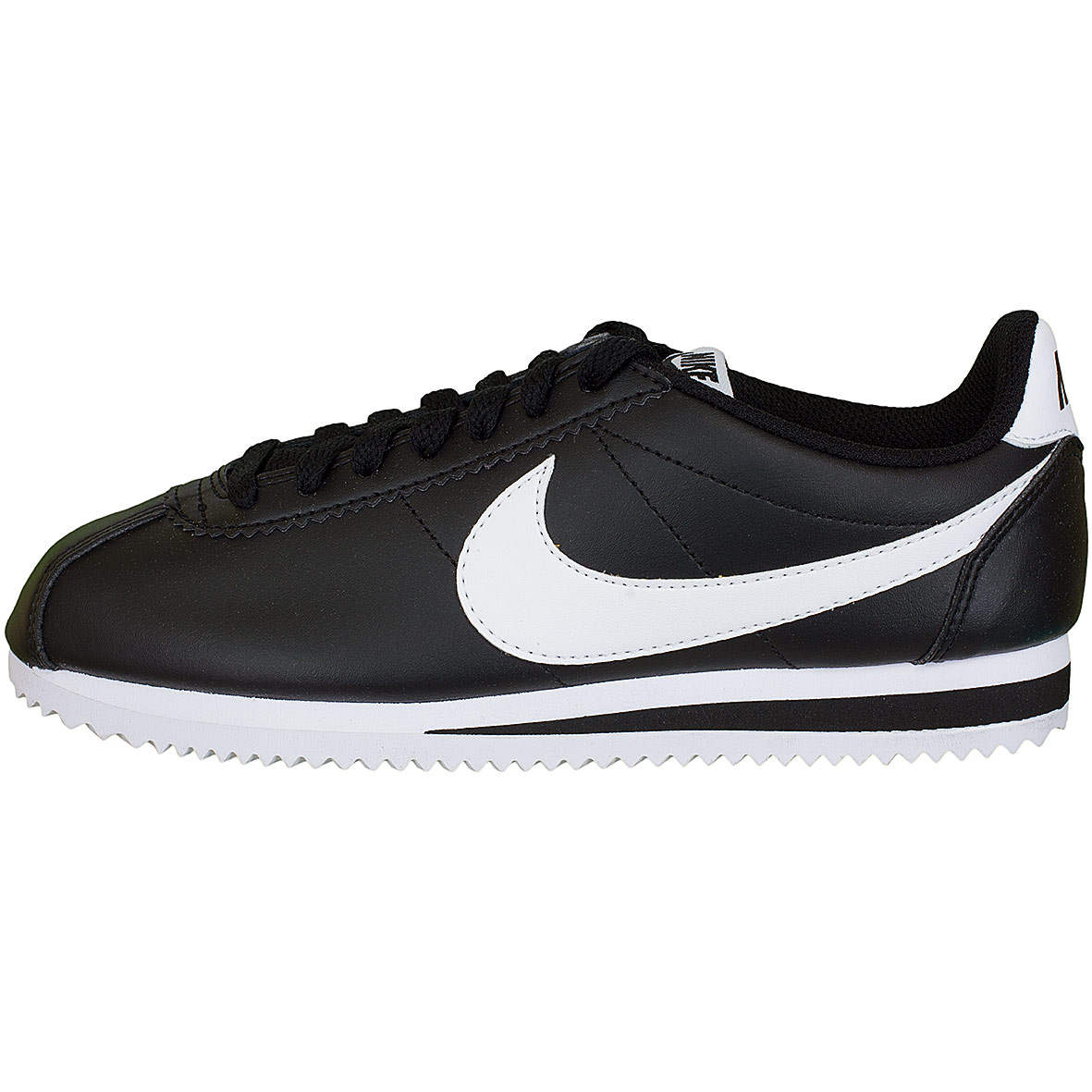 nike damen sneaker cortez leather schwarz wei hier. Black Bedroom Furniture Sets. Home Design Ideas