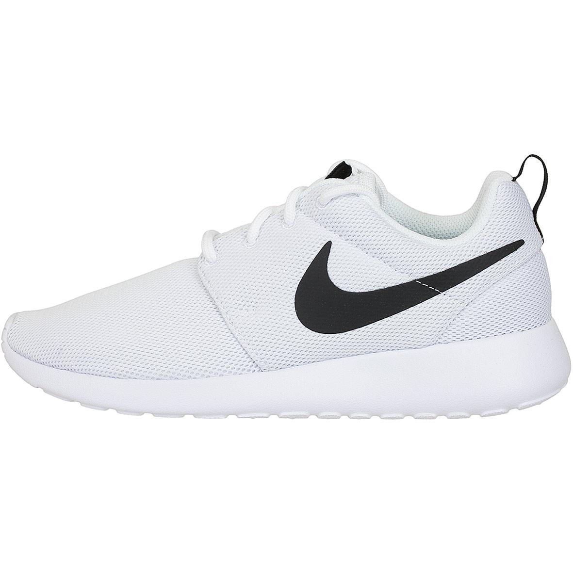 buy popular 0a008 ad5d9 ... inexpensive nike damen sneaker roshe one weiß schwarz ab402 972ff