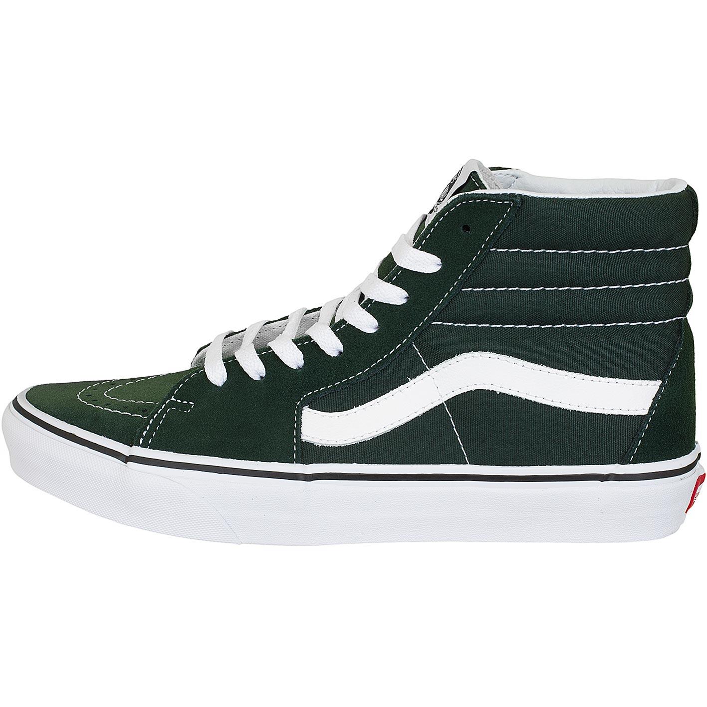 vans grün high