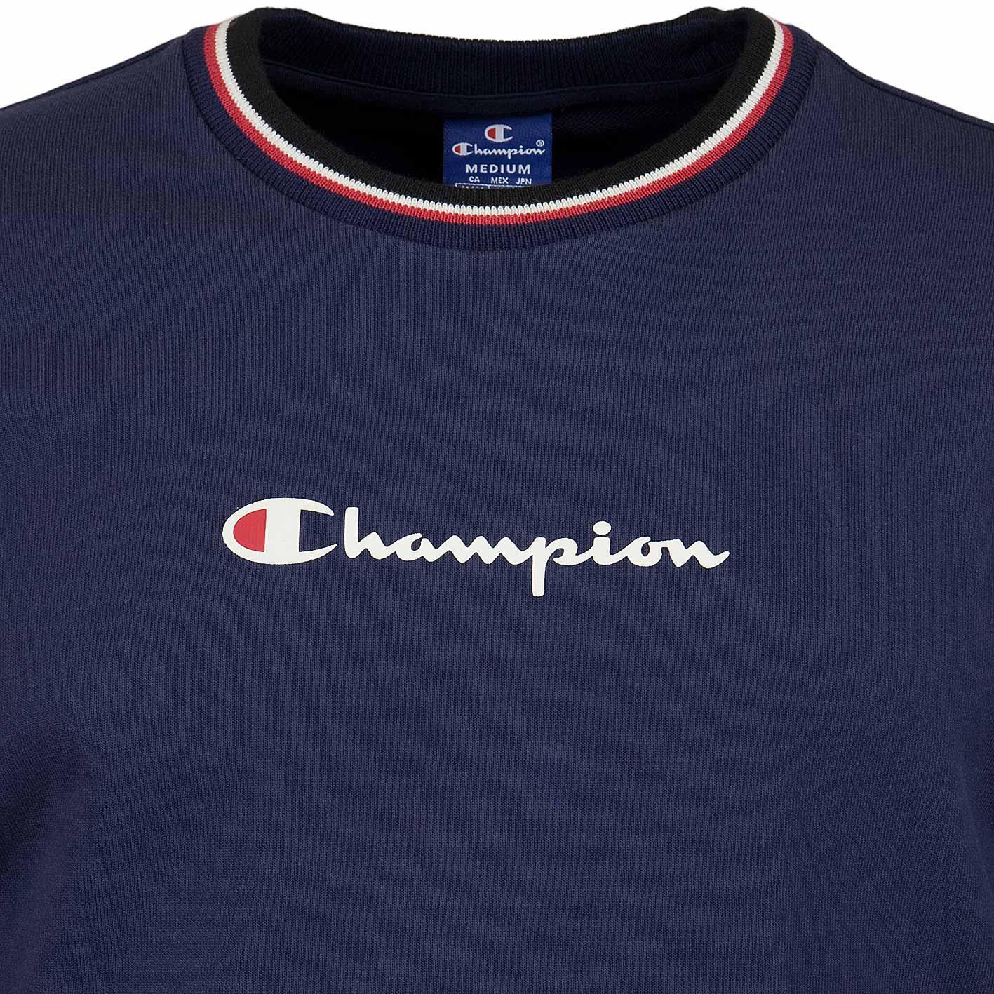 Treffen heiße Produkte toller Rabatt für ☆ Champion Sweatshirt Logo dunkelblau - hier bestellen!