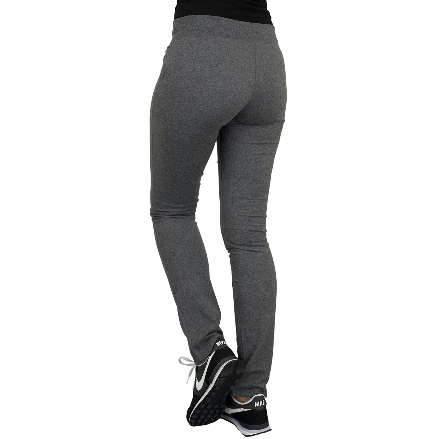 ☆ Nike Damen Sweatpants OH Jersey dunkelgrauweiß hier