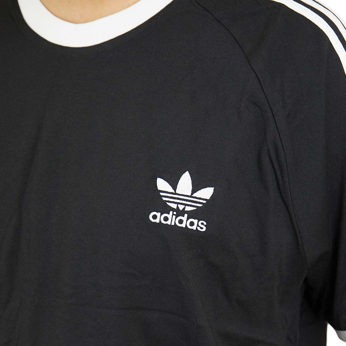☆ Adidas Originals T-Shirt 3-Stripes schwarz - hier bestellen! 6f409043e1