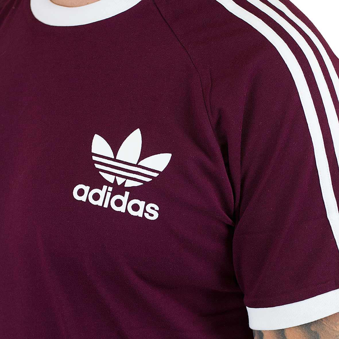 ? Adidas Originals T Shirt California maroon hier bestellen!