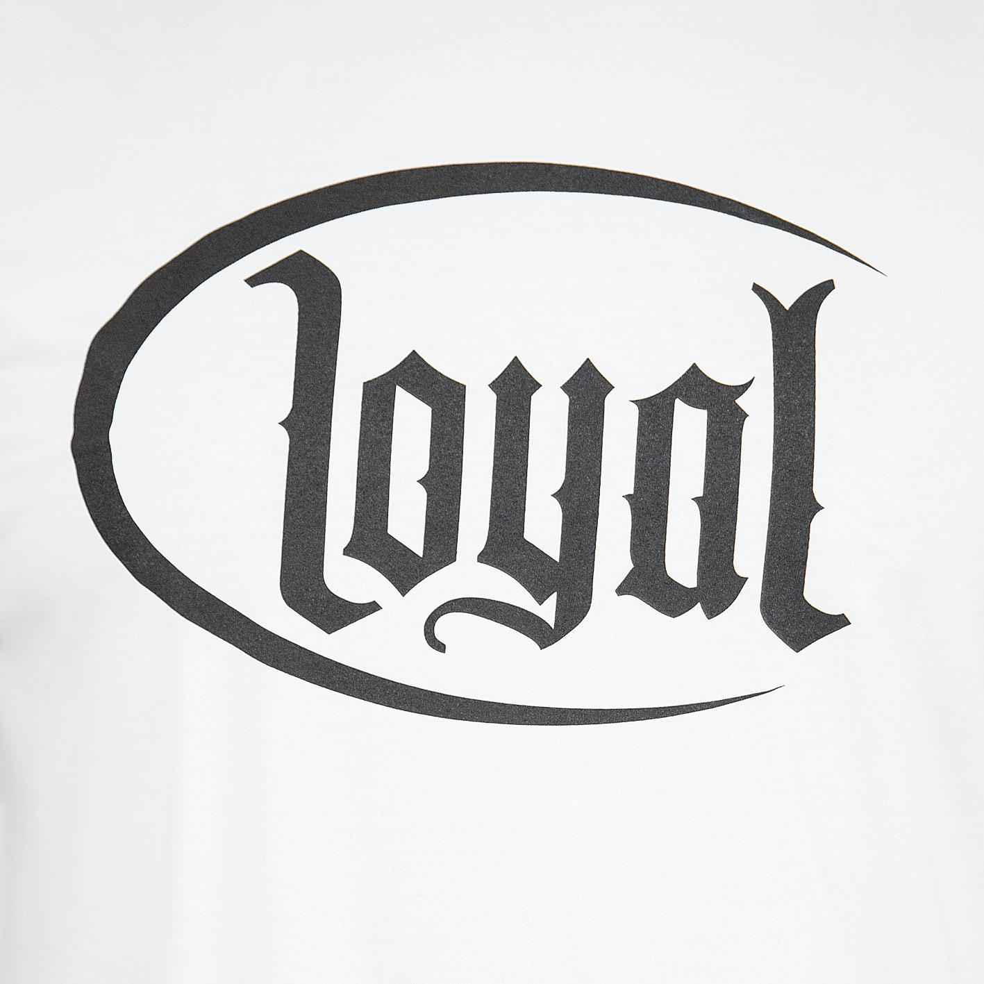 Loyal Circle Weiß T-shirt T-shirts Musik Kontra K
